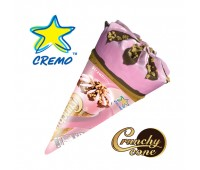 Cremo Crunchy Cone Strawberry