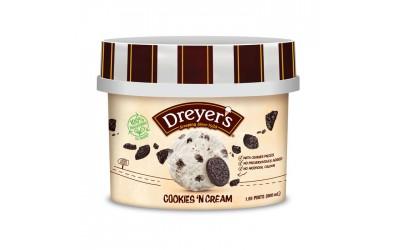 Dreyer's Grand Cookies 'N Cream 800ml